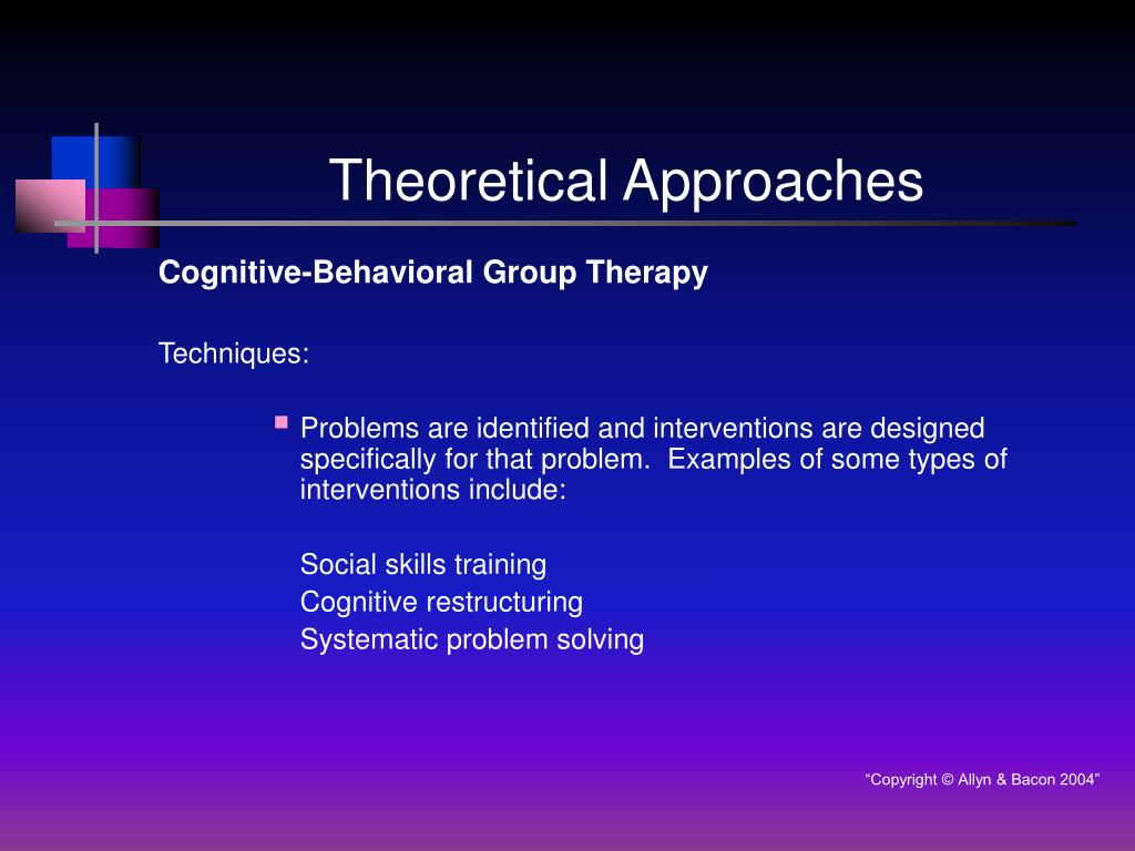 theoretical approaches to child behaivour