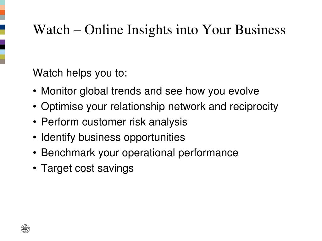 Watch – Online Insights into Your Business
