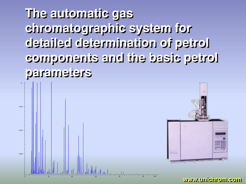 The automatic gas chromatographic system for detailed determination of petrol components and the basic petrol parameters