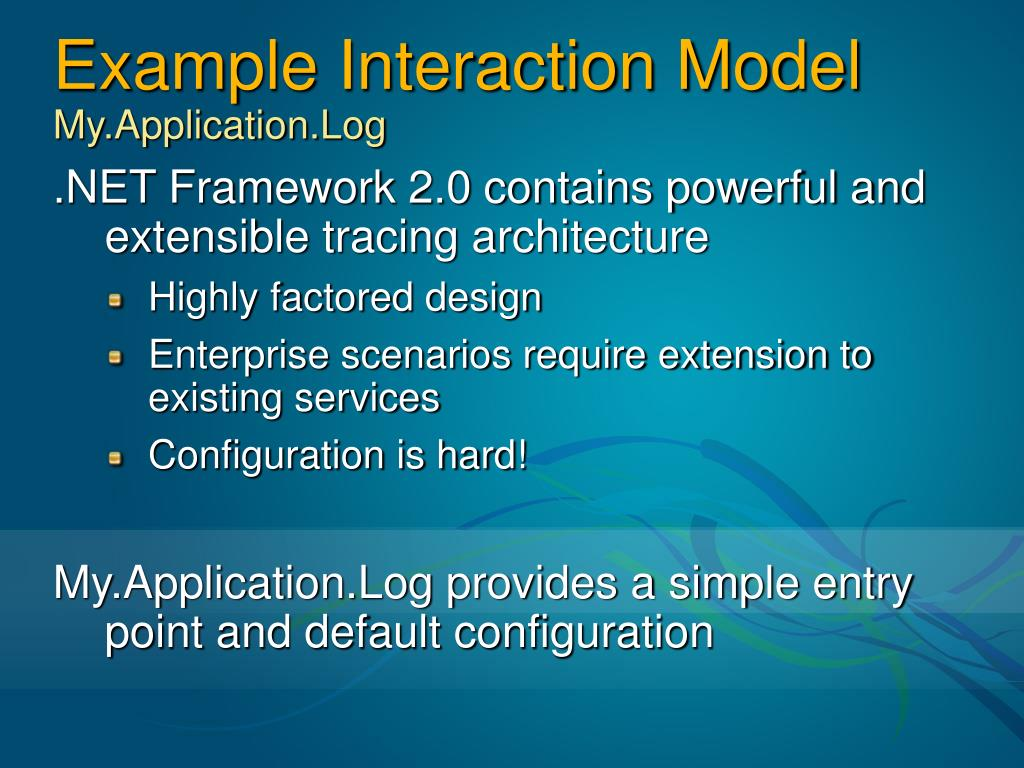 Example Interaction Model