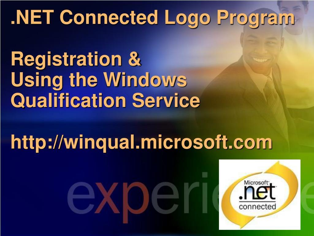 .NET Connected Logo Program