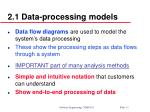 2 1 data processing models