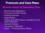 protocols and care plans13