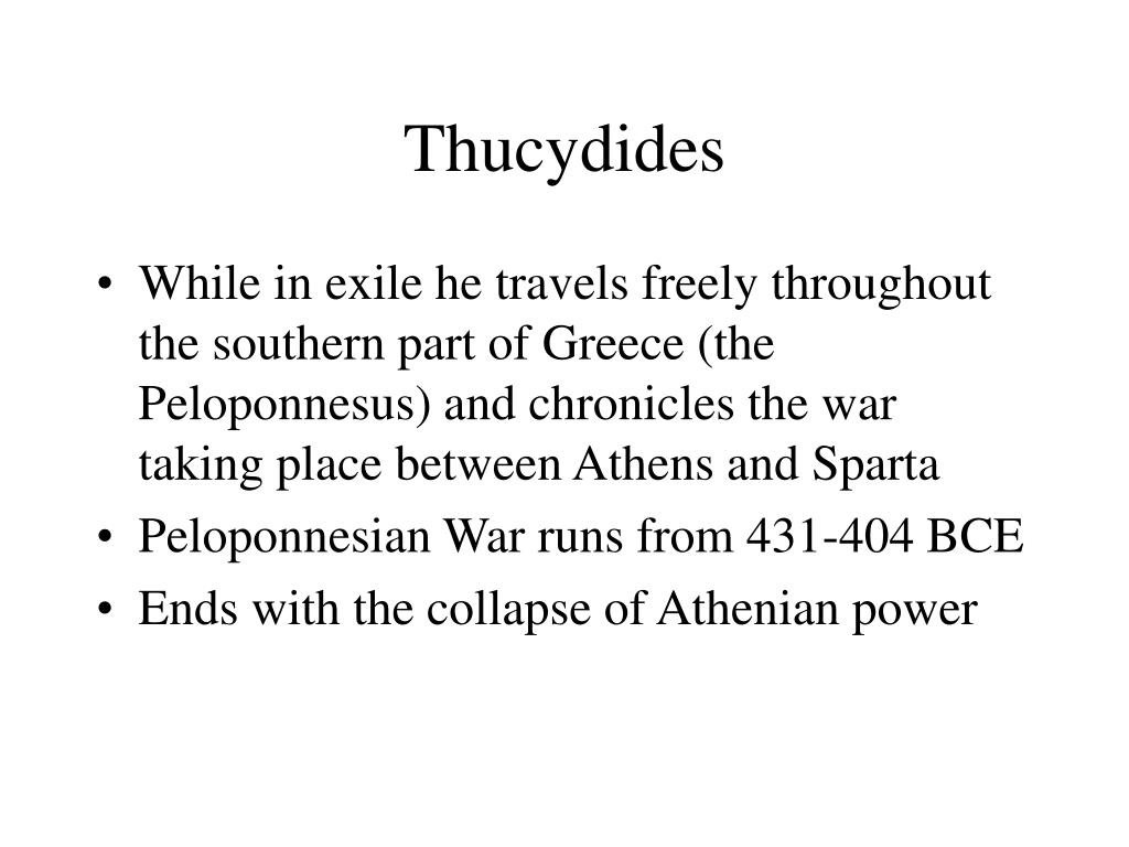 Thucydides
