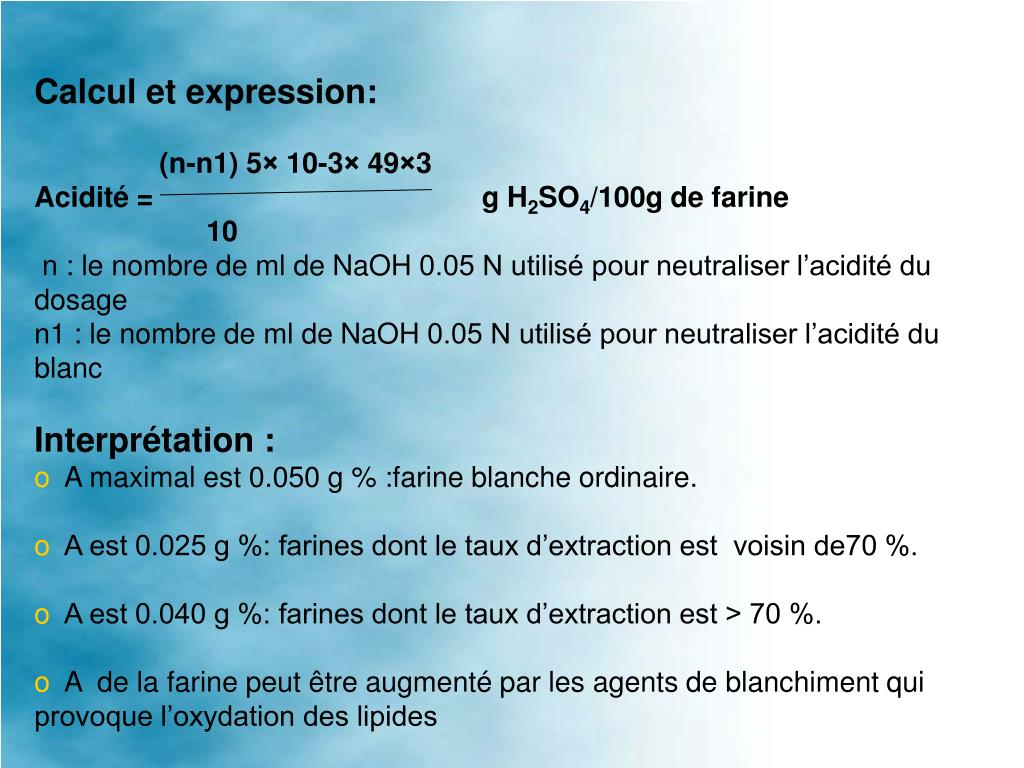 Calcul et expression: