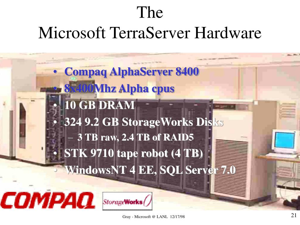 Compaq AlphaServer 8400