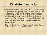 einstein creativity