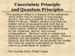uncertainty principle and quantum principles25