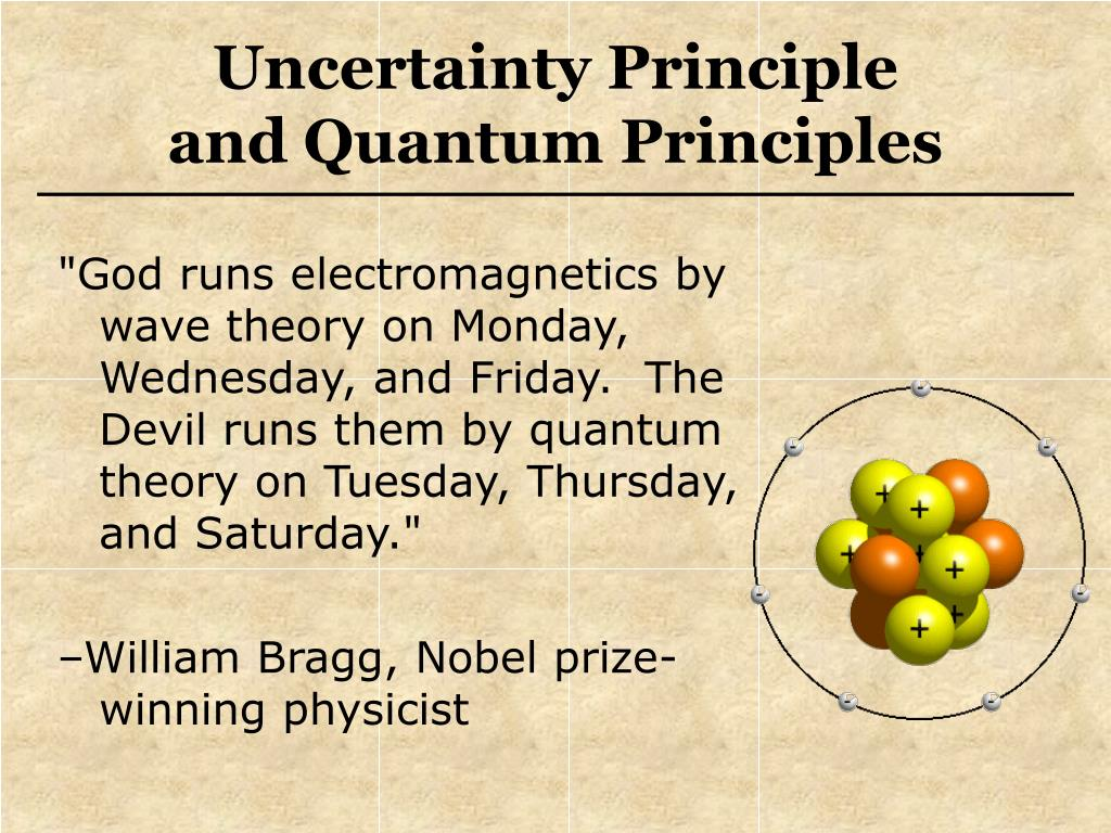 """God runs electromagnetics by wave theory on Monday, Wednesday, and Friday.  The Devil runs them by quantum theory on Tuesday, Thursday, and Saturday."""