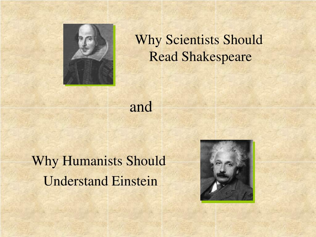 Why Scientists Should