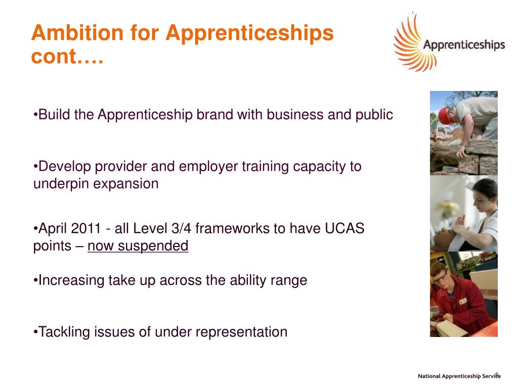 Ambition for Apprenticeships cont….