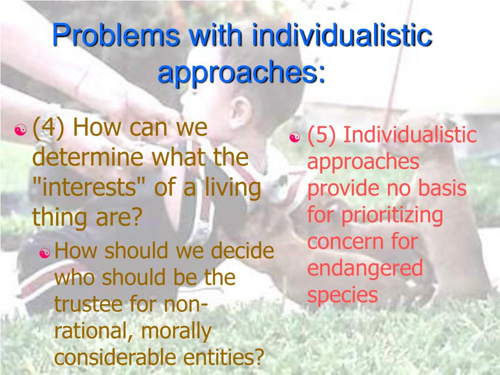 "(4) How can we determine what the ""interests"" of a living thing are?"