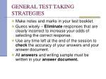 general test taking strategies21
