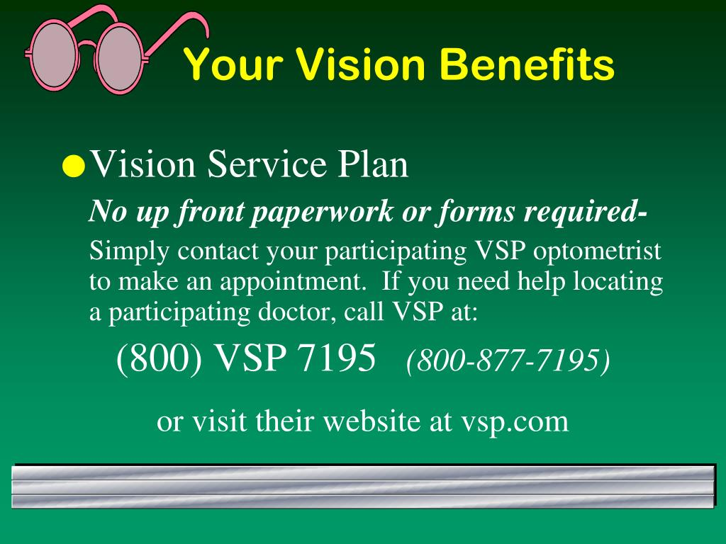 Your Vision Benefits