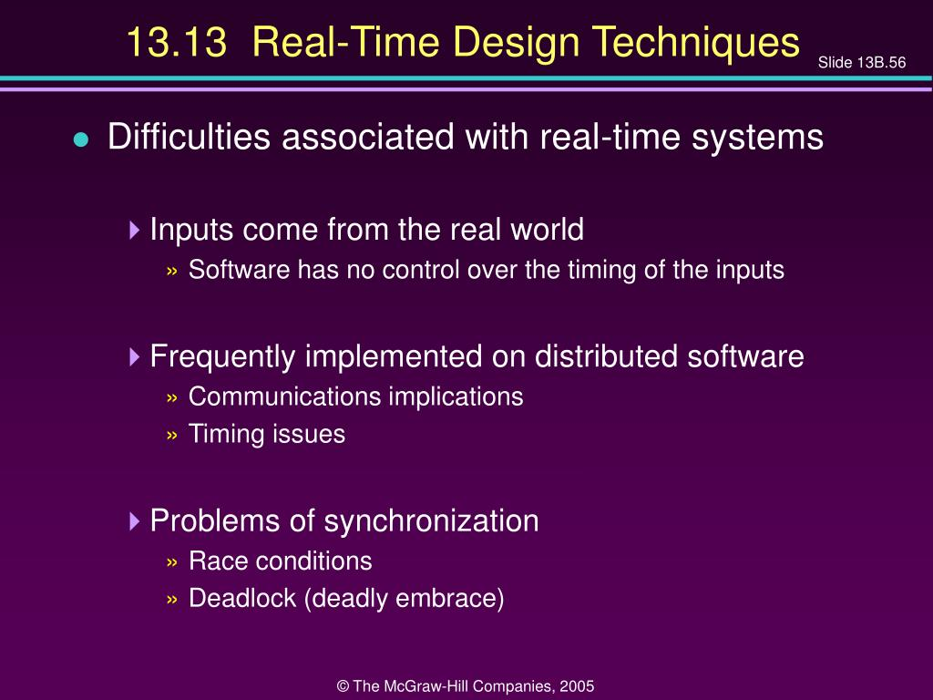 13.13  Real-Time Design Techniques