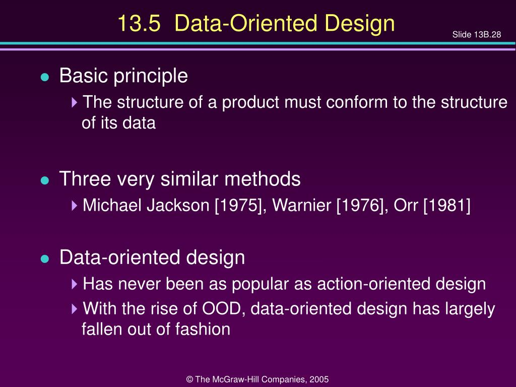 13.5  Data-Oriented Design