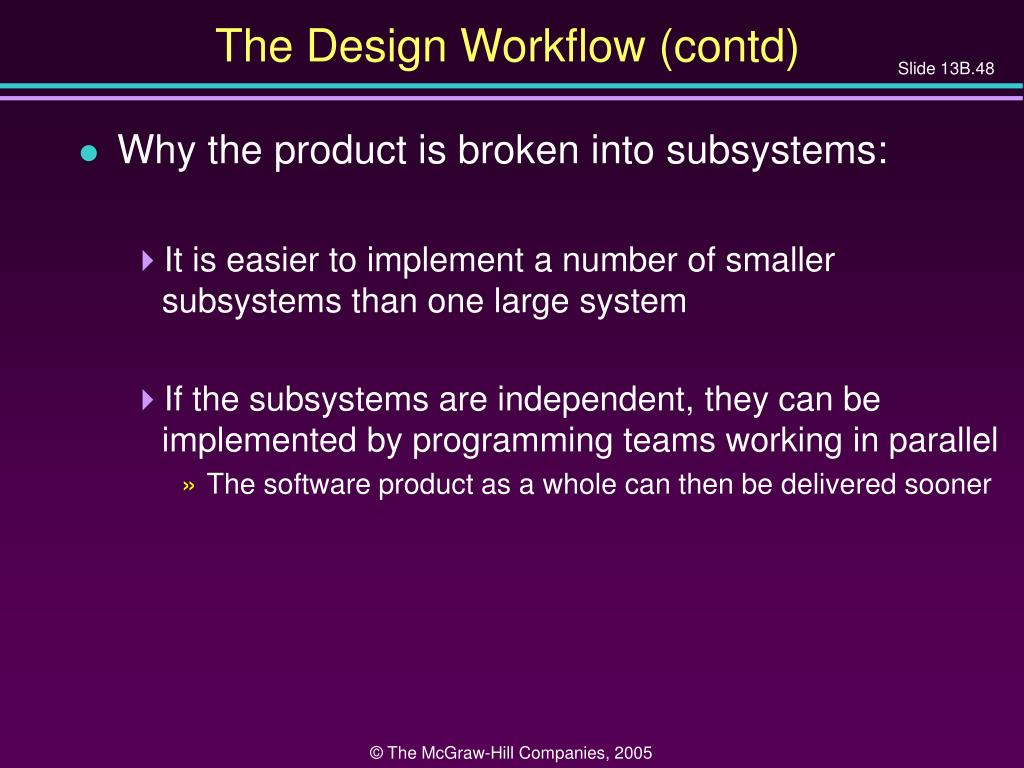 The Design Workflow (contd)