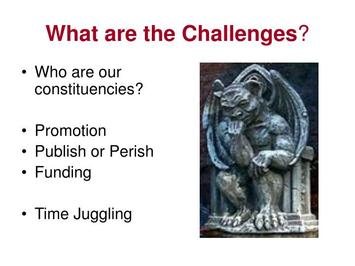 What are the Challenges