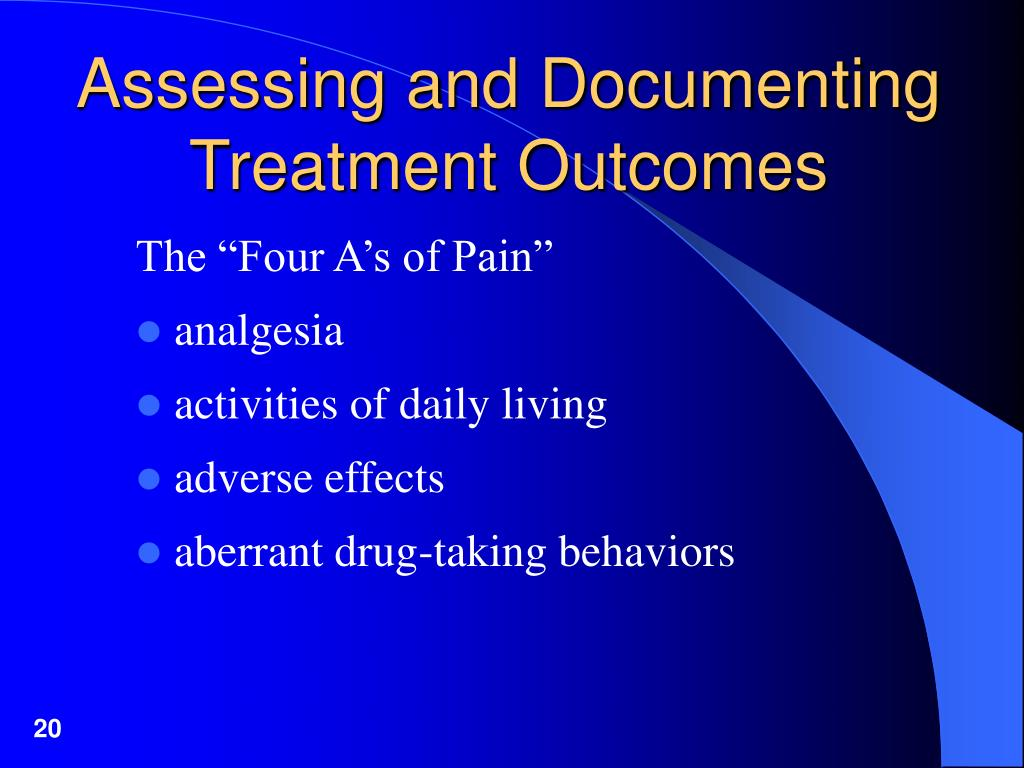 Assessing and Documenting Treatment Outcomes