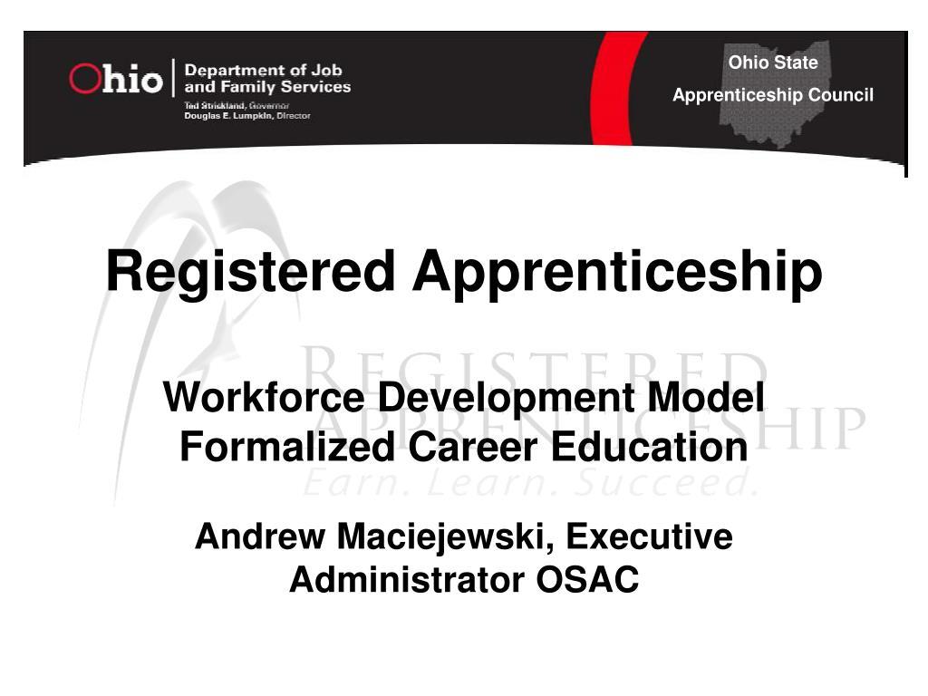 Registered Apprenticeship
