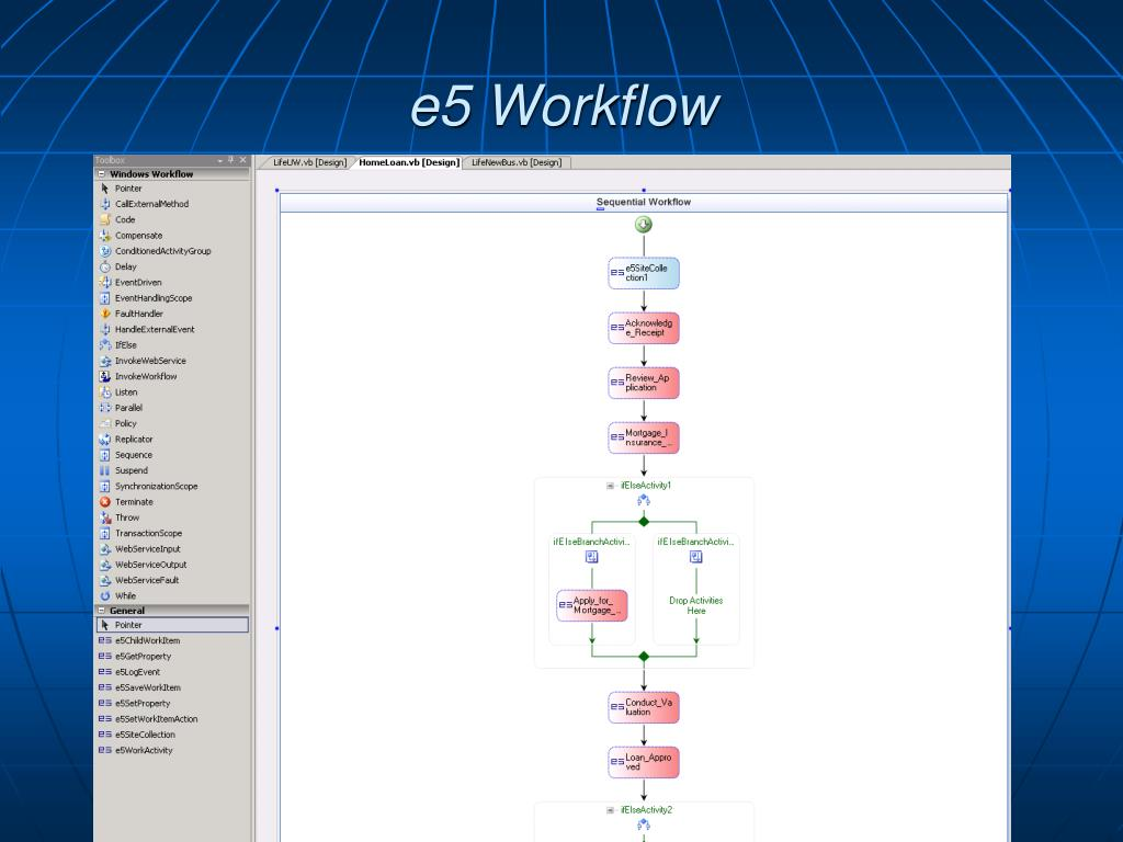 e5 Workflow