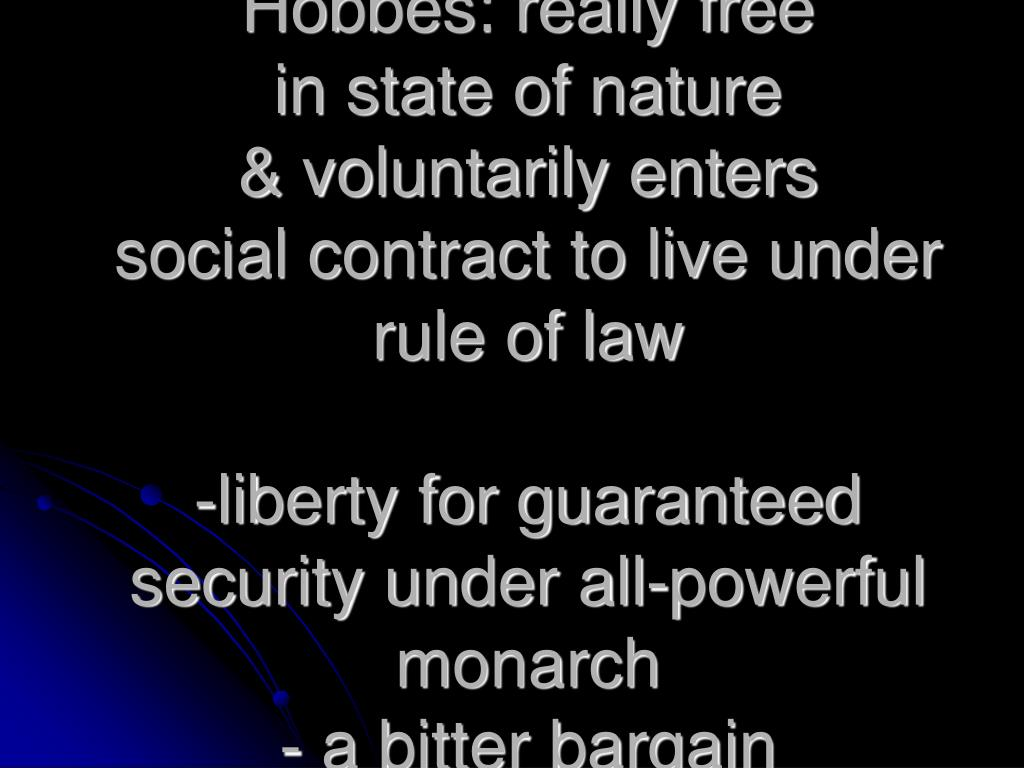 Hobbes: really free