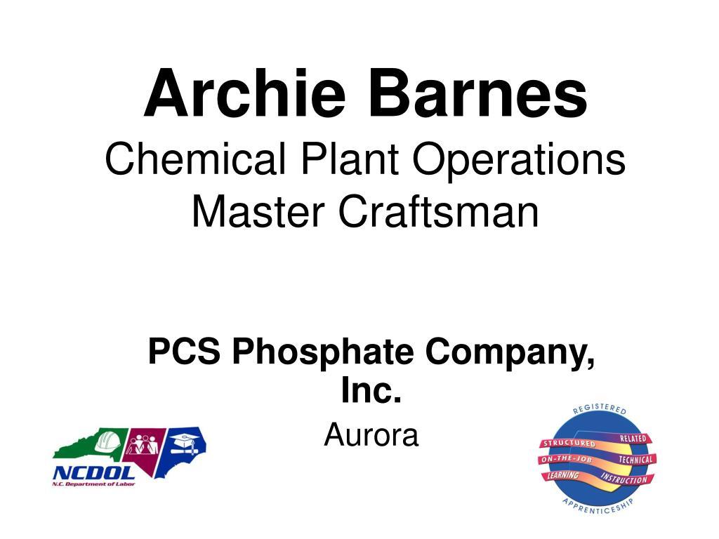 Archie Barnes