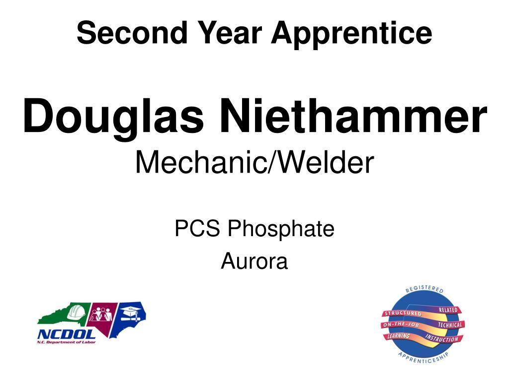 Second Year Apprentice