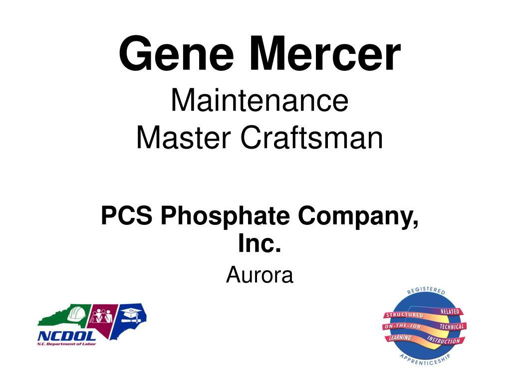 Gene Mercer