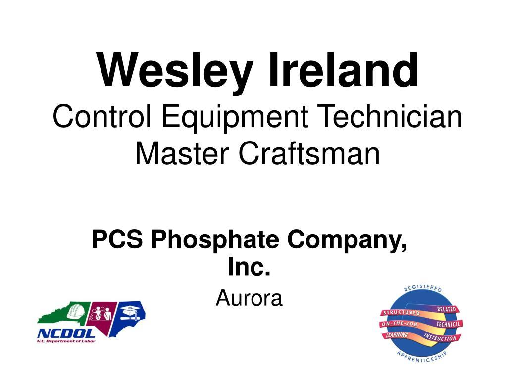 Wesley Ireland