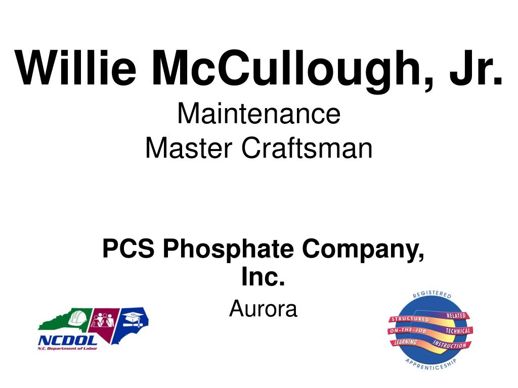 Willie McCullough, Jr.