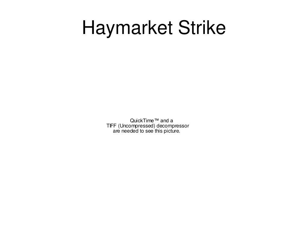 Haymarket Strike