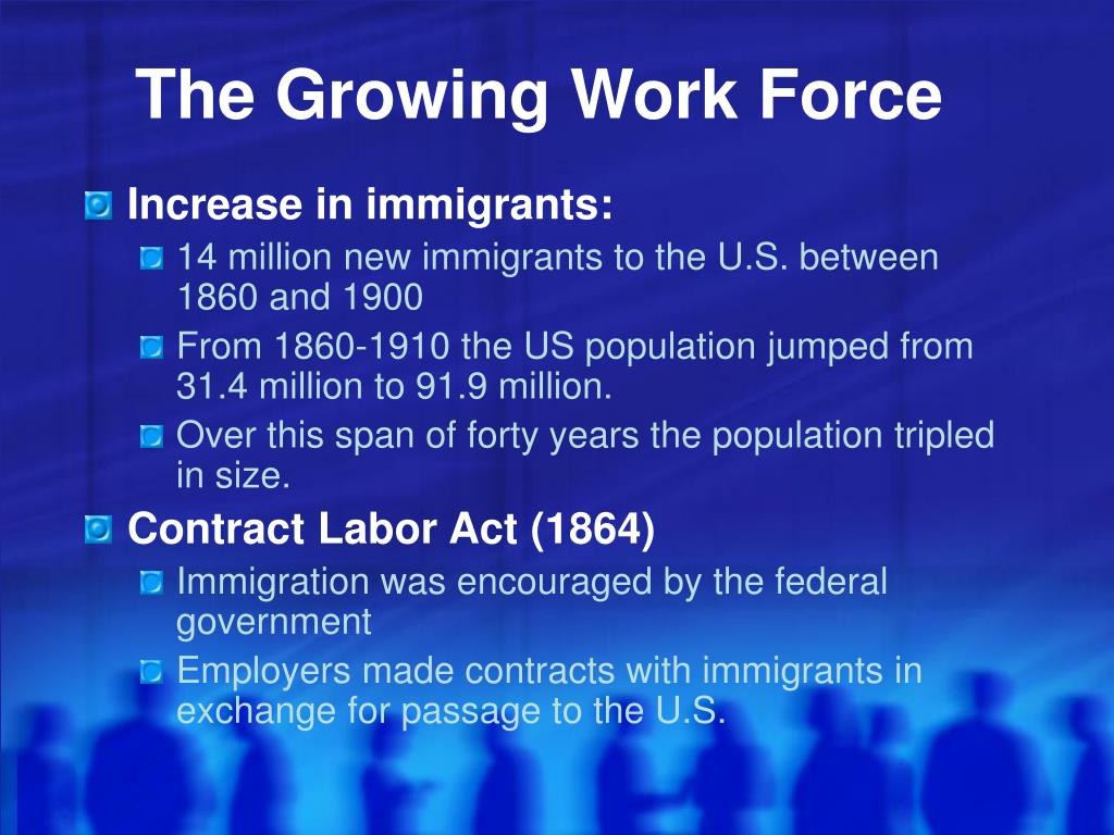 The Growing Work Force