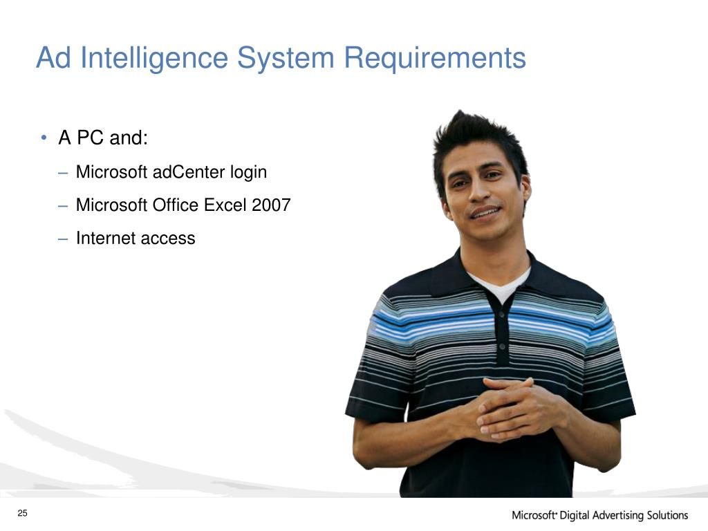 Ad Intelligence System Requirements