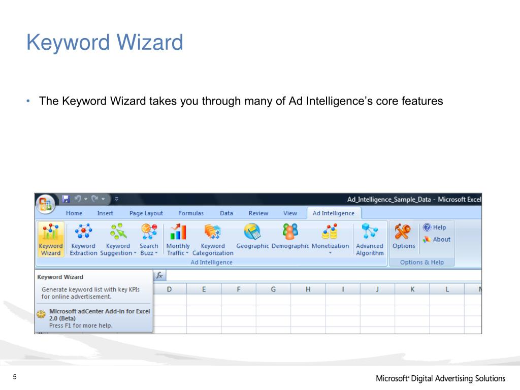 Keyword Wizard