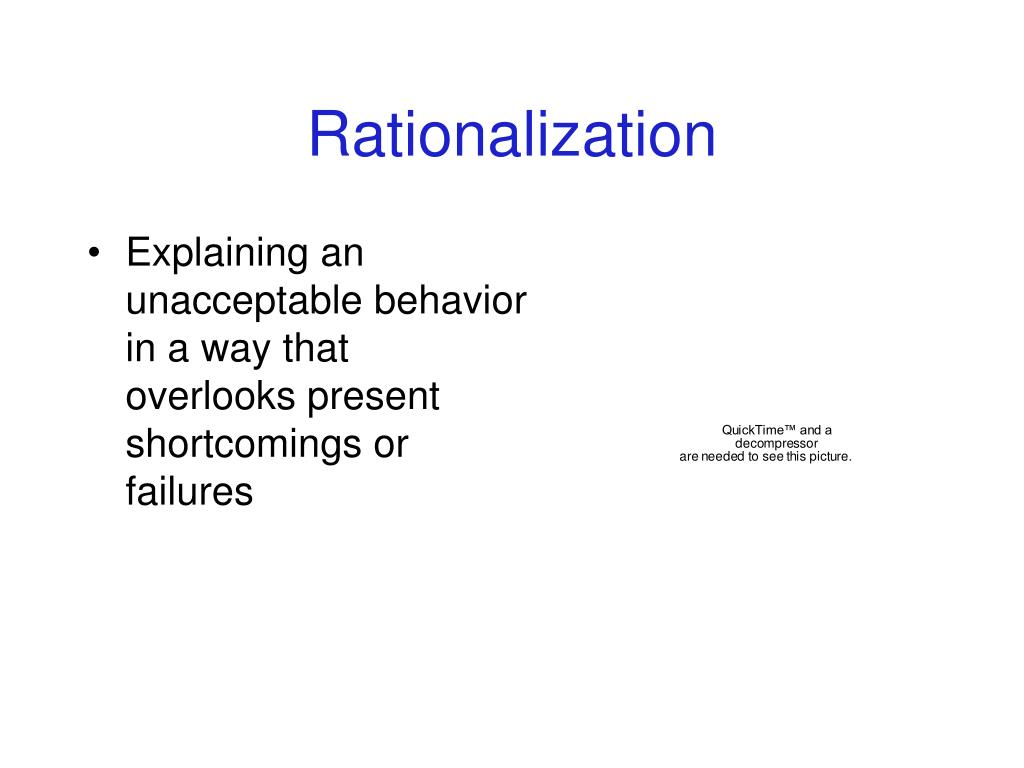Rationalization