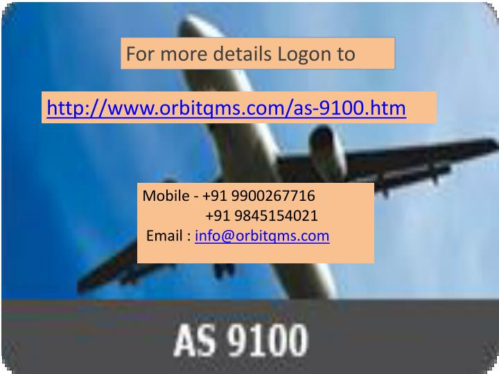 For more details Logon to