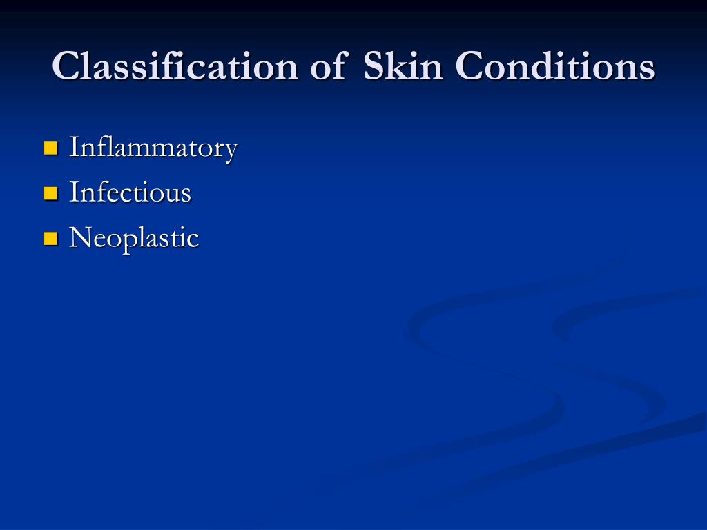 Classification of Skin Conditions