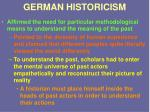 german historicism