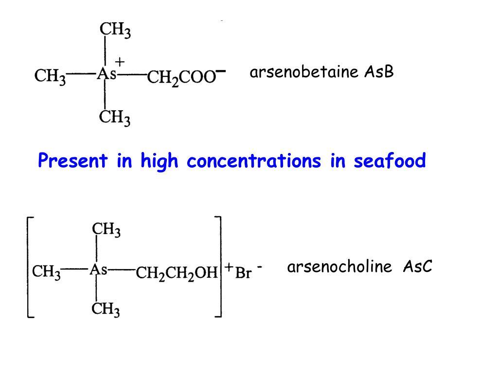 arsenobetaine AsB