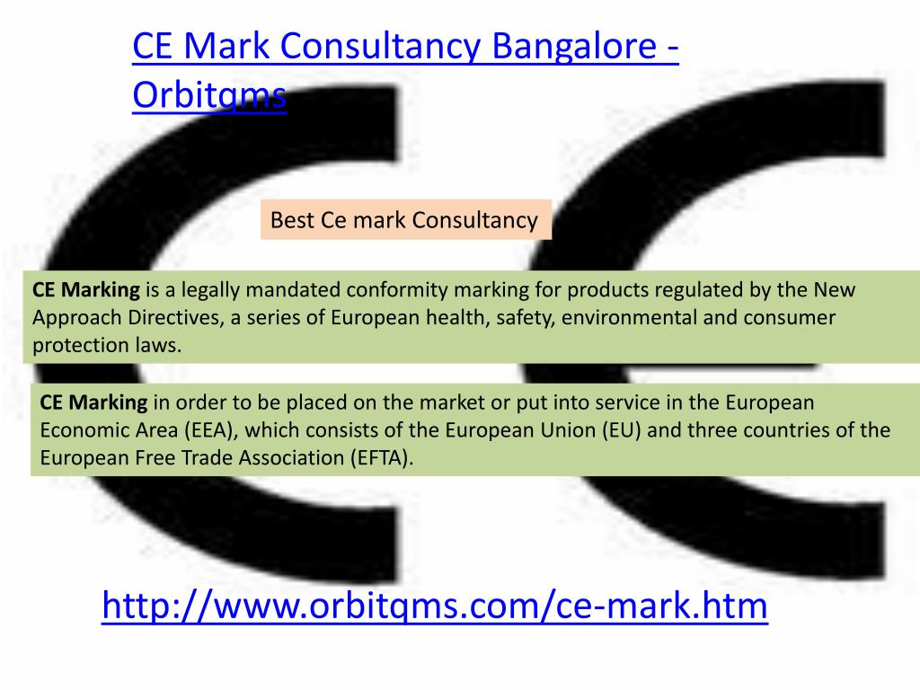 CE Mark Consultancy Bangalore - Orbitqms