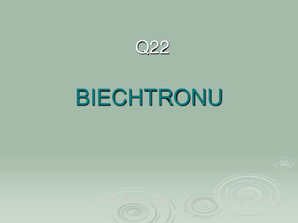 BIECHTRONU