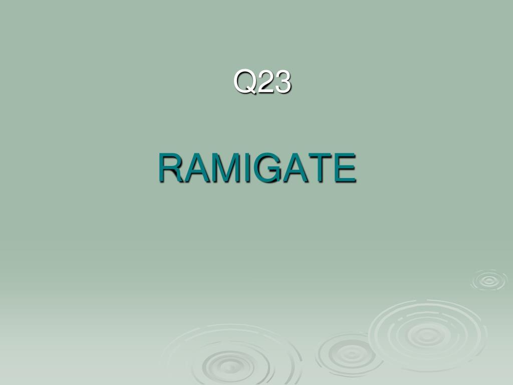 RAMIGATE