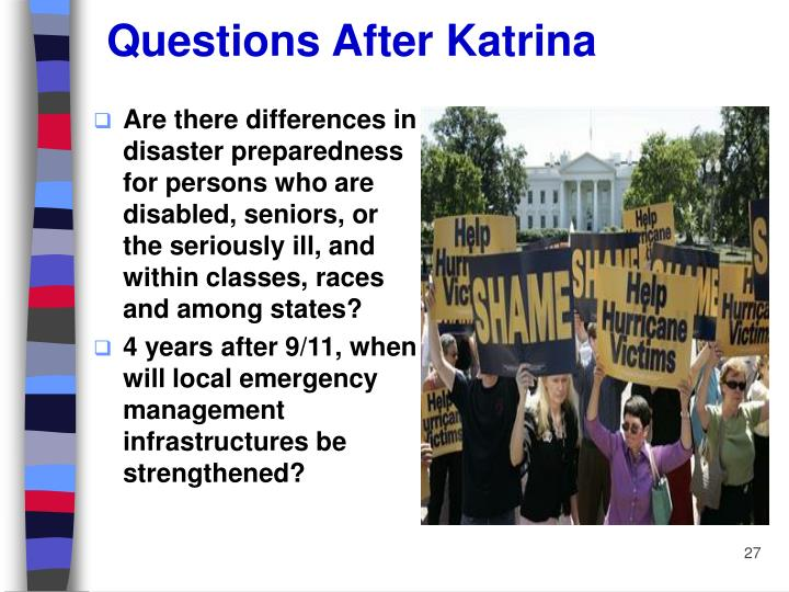 Questions After Katrina