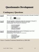 questionnaire development1