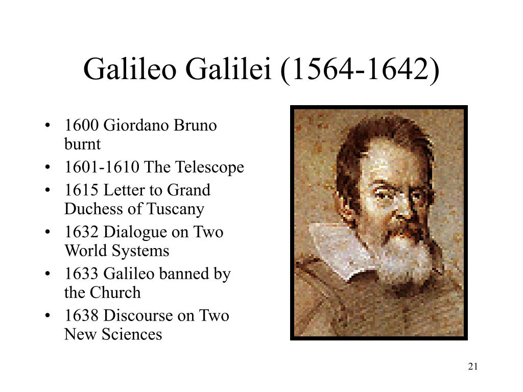 galileo galilei scientific thought Find out more about the history of galileo galilei, including videos,  and his  penchant for thoughtful and inventive experimentation pushed the scientific  method.