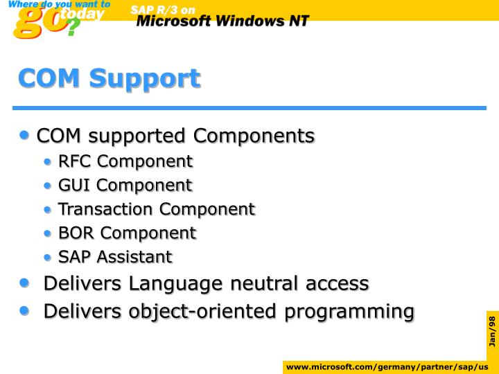 COM Support