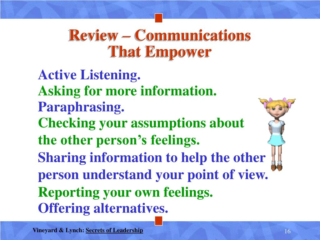 Review – Communications