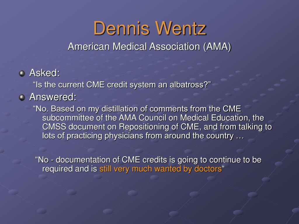 Dennis Wentz