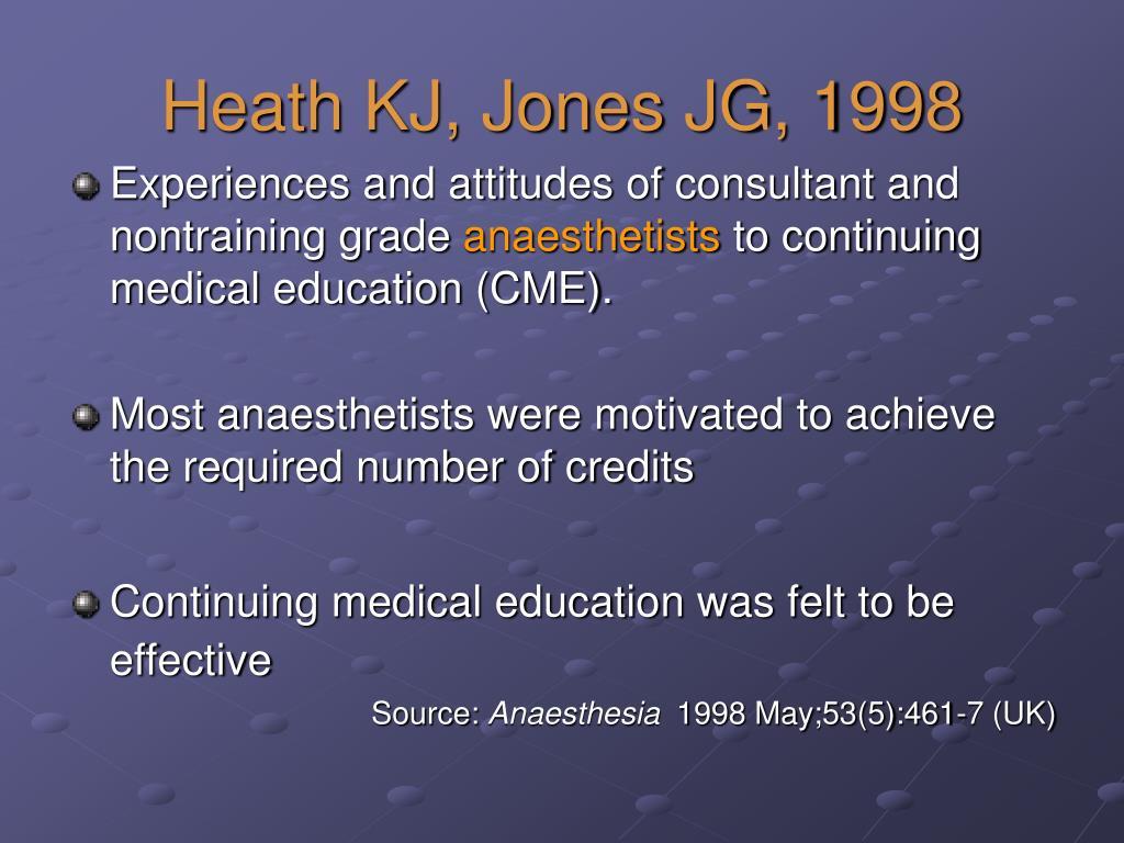 Heath KJ, Jones JG, 1998